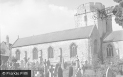 Cowbridge, Holy Cross Church 1953