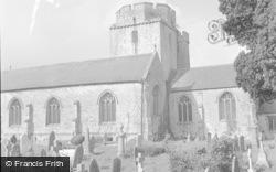 Cowbridge, Holy Cross Church 1953