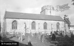 Cowbridge, Holy Cross Church 1955