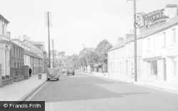 Cowbridge, Llantwit Major Road 1955