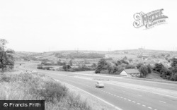 Cowbridge, The By Pass c.1965