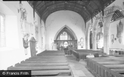 Cowbridge, The Church Interior 1955