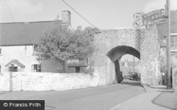 Cowbridge, The Old South Gate 1953