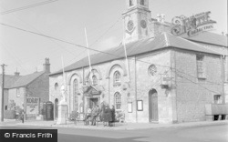 Cowbridge, The Town Hall 1953
