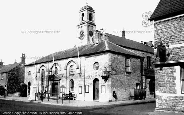 Photo of Cowbridge, Town Hall 1955