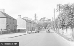 Cowbridge, West Street 1955