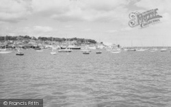 Cowes, From East Cowes c.1960