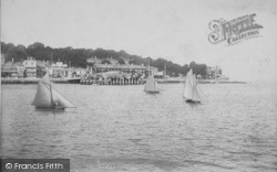 Cowes, From The Sea 1908
