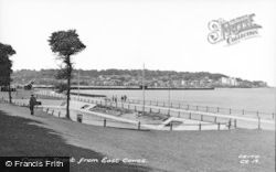 Cowes, Front From East Cowes c.1955