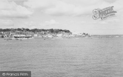 Cowes, Front From East Cowes c.1960