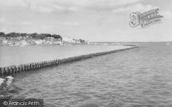 Cowes, Front, From East Cowes c.1960