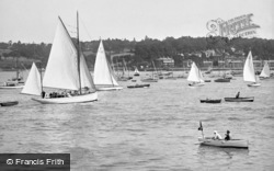 Cowes, Harbour 1923