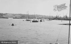 Cowes, Harbour c.1955