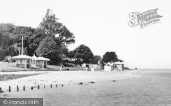 Cowes, The Beach c.1960