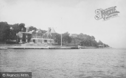Cowes, The Royal Yacht Squadron 1908