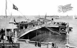 Victoria Pier 1923, Cowes