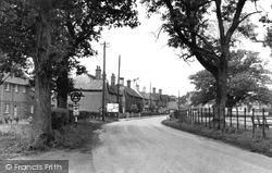 Cowfold, Bolney Road c.1950