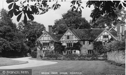 Cowfold, Brook Farm House 1950