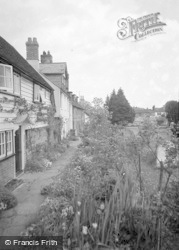 Cowfold, Church Walk 1958