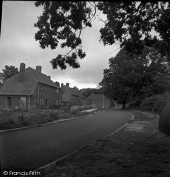 Cowfold, Fairfield Cottages 1950