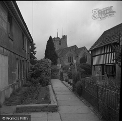 Cowfold, St Peter's Church c.1950