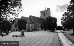 Cowfold, St Peter's Church c.1955