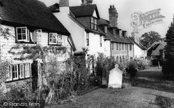Cowfold, The Churchyard 1959