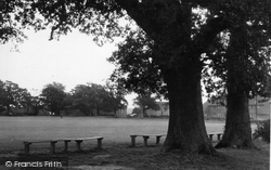 Cowfold, The Recreation Ground c.1950
