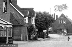 Cowfold, The Village Petrol Station 1950