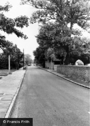 Church Road c.1960, Cowley