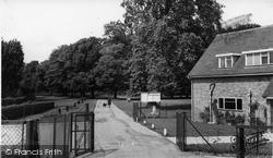 Cowley Hall Recreation Ground c.1960, Cowley