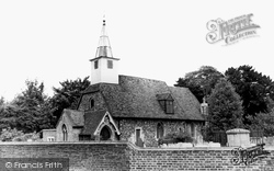 St Laurence Parish Church c.1955, Cowley
