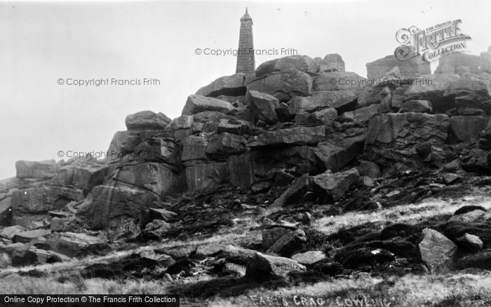 Photo of Cowling, Earl's Crag c.1960