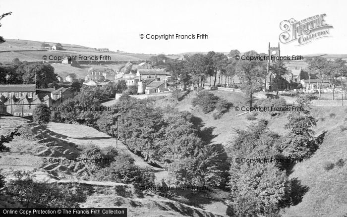 Photo of Cowling, Holy Trinity Church And Surrounds c.1950