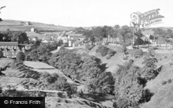 Cowling, Holy Trinity Church And Surrounds c.1950