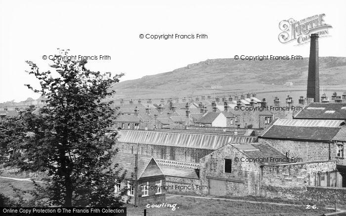 Photo of Cowling, Ickornshaw Mill c.1960
