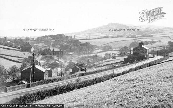 Photo of Cowling, Main Road c.1950