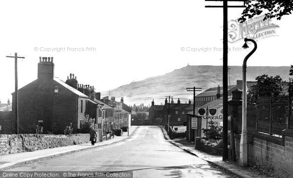 Photo of Cowling, The Village c.1953