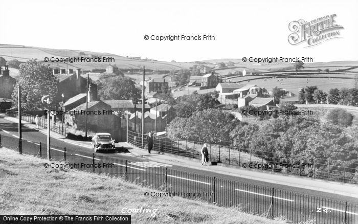 Photo of Cowling, The Village c.1960