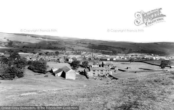 Photo of Cowling, View From Hallam Hill c.1960