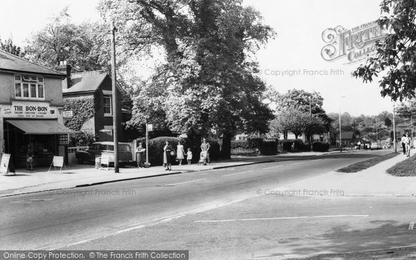 Cowplain, London Road c1960