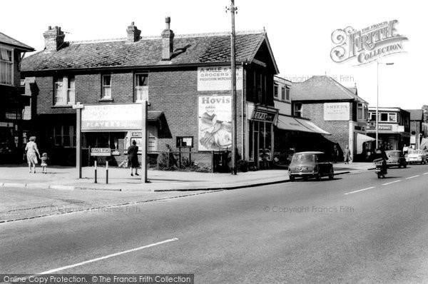 Cowplain, London Road c1965