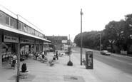 Cowplain, Shopping Parade c1965