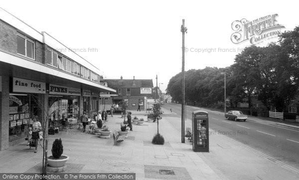 Cowplain, shopping parade c1960