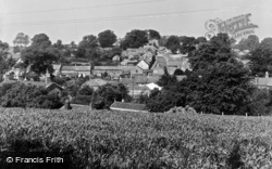General View Of Village c.1950, Coxwold