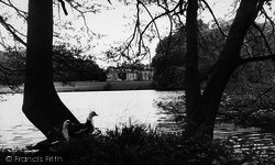 Coxwold, Newburgh Priory, The Lake c.1955