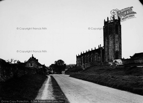 Photo of Coxwold, St Michael's Church c.1955
