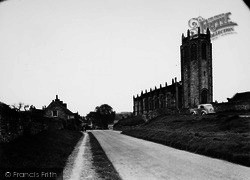 Coxwold, St Michael's Church c.1955