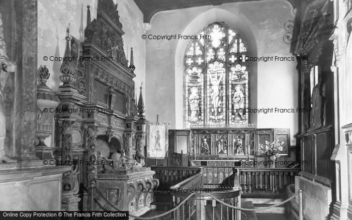 Photo of Coxwold, St Michael's Church, Interior c.1960