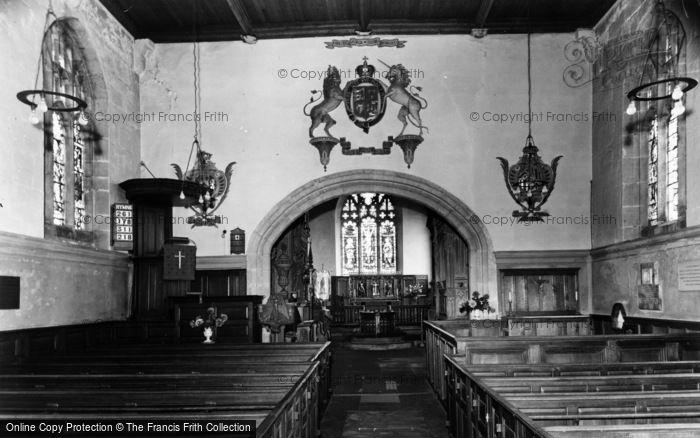 Photo of Coxwold, St Michael's Church, Interior c.1960